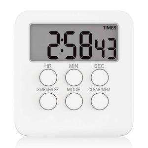 Küchentimer Magnetisch Digitaler Timer und Stoppuhr Küchenwecker Kurzzeitwecker mit Ton und Lichtsignal, Ideal Küchenuhr Timer zum Kochen, Backen, Sport, Studieren usw
