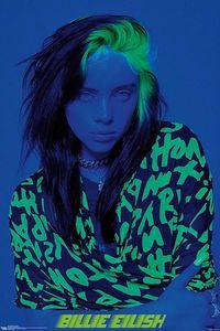 Billie Eilish Poster Blue  86,4 x 56,8 cm