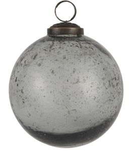IB Laursen ApS - Weihnachtskugel Glas smoke