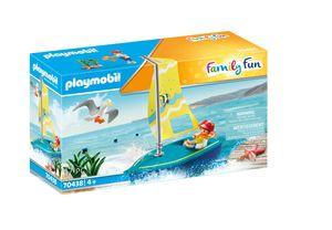 PLAYMOBIL Family Fun 70438 Segeljolle