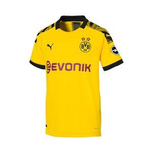 PUMA BVB Home Shirt Replica Jr CYBER YELLOW-PUMA BLACK 164