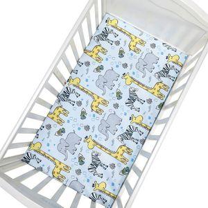 2er Set Baby Spannbettlaken 70x130x22cm, Bettlaken Matratzenschoner Spannbetttuch Für Babybett Matratzen 100% Baumwolle