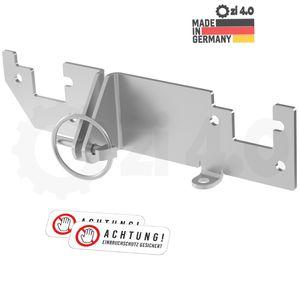 Hecktürverriegelung Einbruchschutz Hecktür für Ducato Jumper Boxer X250 H1 H2 Dach