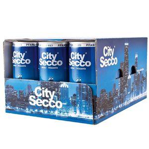 City Secco Perlwein Dose praktischer Begleiter 200ml 12er Pack