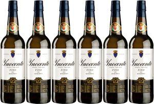 6x Fino Inocente  – Valdespino Sherry, Jerez-Xèrés-Sherry – Weißwein