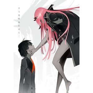 Hot Japan Anime Darling in der FranXX Poster Wand Poster Home Decor --L