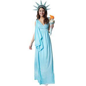 dressforfun Frauenkostüm Göttin der Freiheit - S