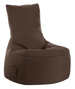 Sitzsack Swing Scuba 95 x 90 x 65 cm,  Braun Swing