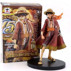 One Piece Monkey D. luffy 15. Jahrestag Figur Modell 15cm