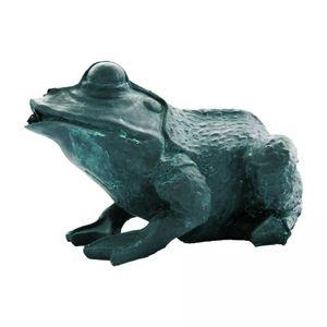 Hochwertigen Wasserspeier Frosch 12 cm 1386008
