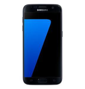 Samsung Handy Galaxy S7 12,9cm (5,1 Zoll) G930F, 4GB RAM, 32GB Speicher, Farbe: Black Onyx