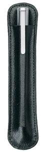Alassio Schreibgeräte Etui für 1 Schreibgerät schwarz Leder (ohne Inhalt)
