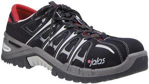 Jalas 9528, Unisex, Safety boots, Schwarz, Grau, Rot, EUE, CE, EN ISO 20345:2011, S3 SRC HRO, Kautschuk