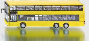 Siku Linienbus MAN Doppelstock Doppeldeckerbus gelb ; 1884