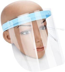 3 Stück Safety Gesichtsschutzschirm, Küche Kochen, doppelseitige Anti-Fog Anti-Öl Splash klar,Schutzmaske Gesichtsschutz Visier , Augenschutz