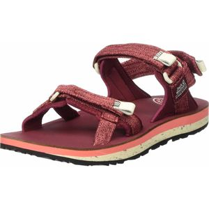 Jack Wolfskin OUTFRESH DELUXE SANDAL W carbernet / champagne carbernet / champagne 4