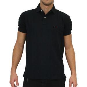 Tommy Hilfiger Core Premium Regular Poloshirt Herren Schwarz (867878433 060) Größe: M