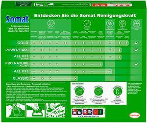 Somat All in 1 Pro Nature Spülmaschinen Tabs 56 Tabs Spülmittel Spülen Reinigung