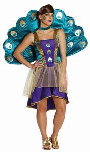 Pfau Vogel Karneval Fasching Kostüm 34