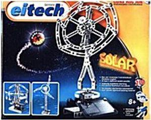 Eitech Solar Deluxe Metall und Solar Bausatz C78 Solarzelle und Solarmotor