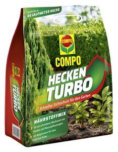 COMPO Heckenturbo 4 kg für ca. 40 laufende Meter Hecke