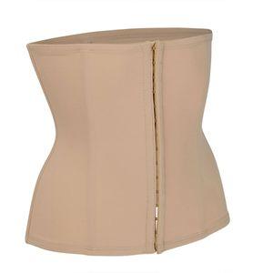 Miss Perfect TC Shapewear Damen - Gürtel mit Haken und Ösen Body Shaper Damen (S-XXL) Korsett Bauch Weg Damen Waist Trainer - Extra Firm Control, Farbe:Haut (SK), Größe:M