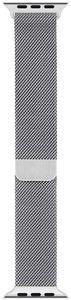 Apple Watch Meshband Smartwatcharmband 40 mm Ersatzarmband Edelstahl silber