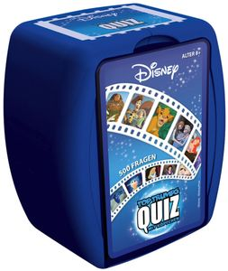 Top Trumps Quiz Disney Classic Ratespiel Wissensspiel Fragespiel Gesellschaftsspiel