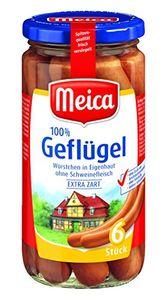 Meica Geflügel-Würstchen, 6 Stück, 180 g