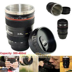 Thermobecher Kamera Objektiv Tasse Thermotasse Becher Kaffeetasse Trinkbecher 350ml