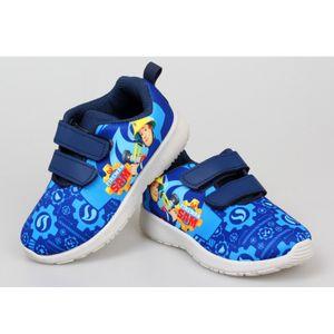 Feuerwehrmann Sam Sneaker Schuhe Sportschuhe für Kinder Turnschuhe in Blau Gr. 30