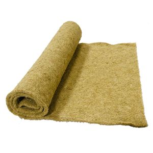 Nager-Teppich aus 100 % Hanf, Meterware, 0,50 m x 10,00 m x 0,5 cm dick