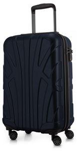Suitline - Handgepäck Hartschalen-Koffer Koffer Trolley Rollkoffer Reisekoffer, TSA, 55 cm, ca. 40 Liter, 100% ABS Matt