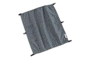 CROOZER Sonnenschutz für Kid 2 Modelle - Kaaos Kollektion, Farbe:Graphite Blue / White