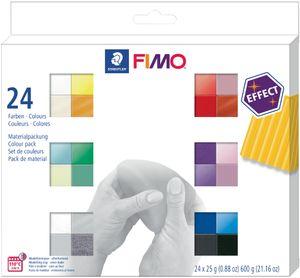 FIMO EFFECT Modelliermasse-Set 24er Set