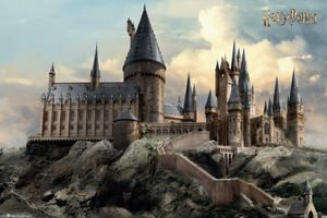 Harry Potter Poster - Hogwarts Day (61 x 91 cm)