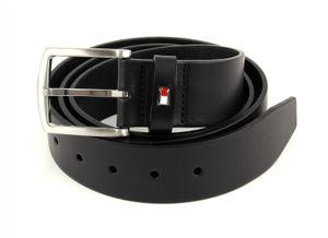 TOMMY HILFIGER New Denton Belt 4.0 W115 Black