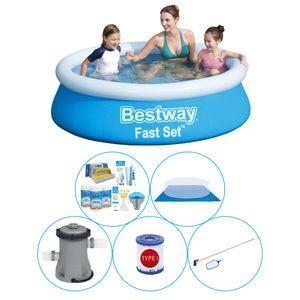 Bestway Fast Set 183x51 cm Rund - Pool Deal