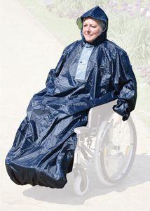 Rollstuhl - Regencape/Regenponcho - universell für alle gängigen Rollstühle und Scooter/Elektromobile