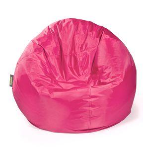 Pushbag - Sitzsack Bag 500 - Bezug Oxford in Pink - 90cm