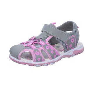 girlZ onlY Kinder Sandale GS122 Grau
