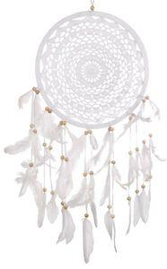 Dreamcatcher Spitze weiß, verschiedene Größen, Grösse:ca. 27 cm