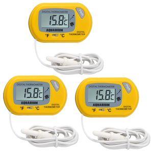 3 x DC 1.5V Wasser Thermometer mit LCD Display Universal für Fisch Aquarium