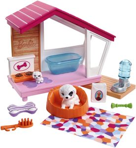 Barbie Möbel Hundehütte Spielset