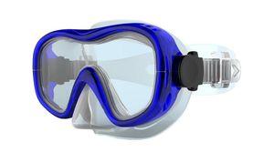 TECNOPRO Tauchmaske M5 JR BRILLIANT BLUE S