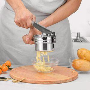 Manueller Kartoffelbrecher aus Edelstahl Kartoffelbrei-Brecher Saftpresse Entsafter-Brecher