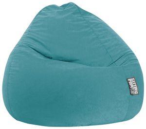 Sitzsack BeanBag Easy XXL 130 x 80 cm,  Smaragd Bbxxl