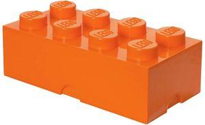 LEGO speicherstein 8 Noppen 25 x 50 cm Polypropylen orange