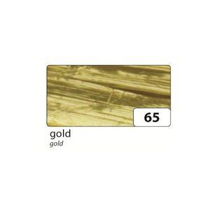 folia 9265 Raffia Edelbast, Bündel 30m, gold (30 m)