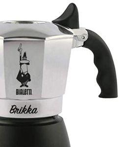BIALETTI Espressokocher 2 Tassen Espresso Maker Espressokanne Kaffeekocher